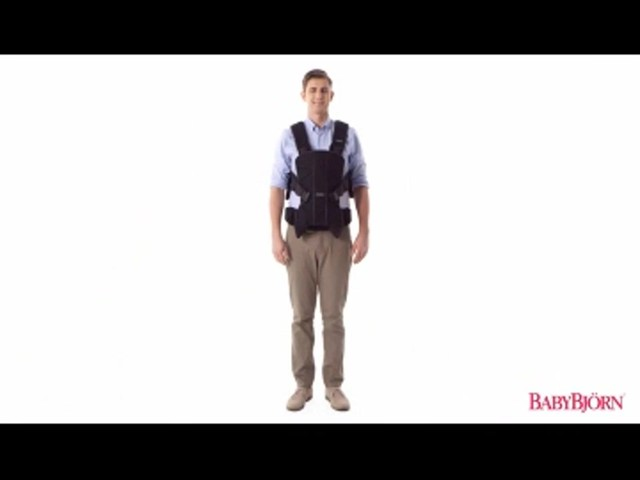 BABYBJORN Baby Carrier One, Cotton Mix, Black, product | drugstore.com - image 3 from the video