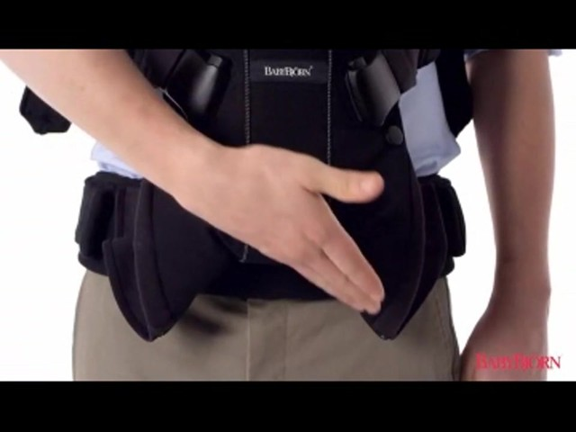 BABYBJORN Baby Carrier One, Cotton Mix, Black, product | drugstore.com - image 4 from the video