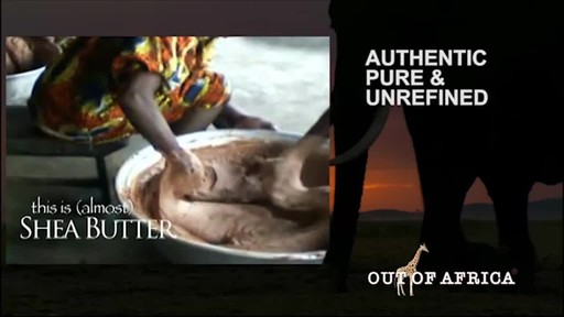 Out of Africa Shea Butter Skin Care products | drugstore.com - image 5 from the video