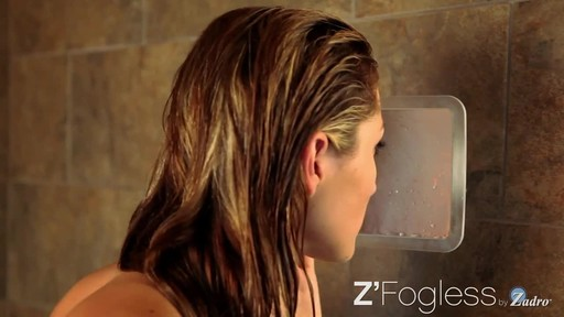 Z'Fogless Water Mirror, Bright LED Light Panel product | drugstore.com - image 5 from the video