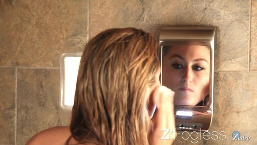 Z'Fogless Water Mirror, Bright LED Light Panel product | drugstore.com - image 6 from the video