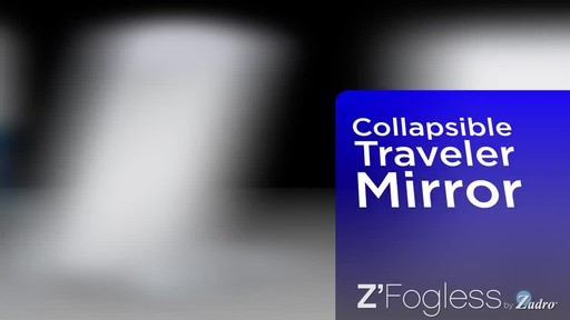 Z'Fogless Water Mirror, Bright LED Light Panel product | drugstore.com - image 7 from the video