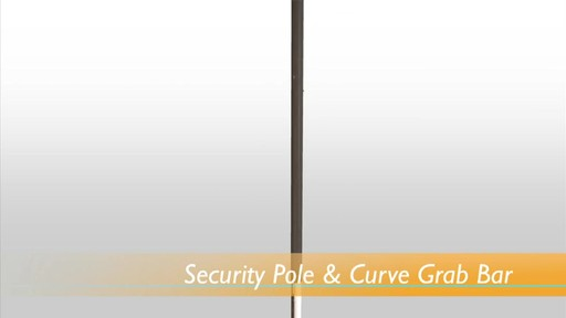 Stander Security Pole & Curve Grab Bar product | drugstore.com - image 1 from the video