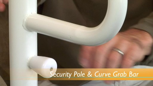 Stander Security Pole & Curve Grab Bar product | drugstore.com - image 4 from the video