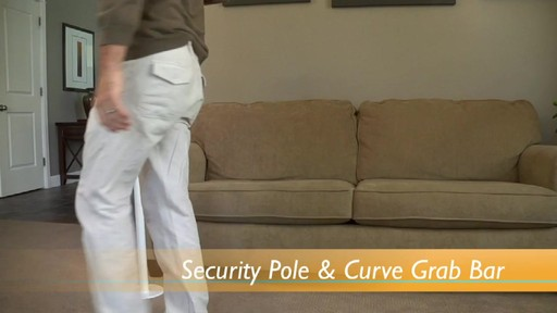 Stander Security Pole & Curve Grab Bar product | drugstore.com - image 5 from the video