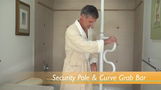 Stander Security Pole & Curve Grab Bar product | drugstore.com - image 7 from the video
