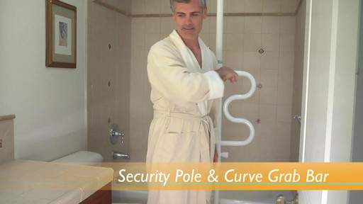 Stander Security Pole & Curve Grab Bar product | drugstore.com - image 9 from the video