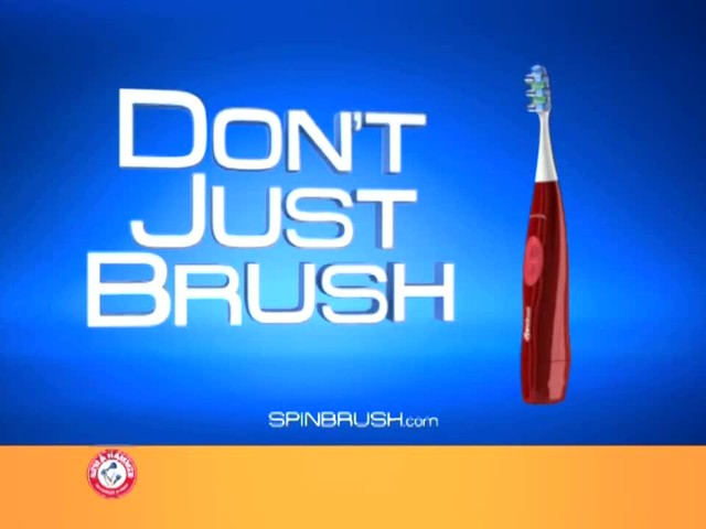 Arm & Hammer Spinbrush Power Toothbrush product | drugstore.com - image 9 from the video