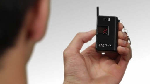 BACtrack Keychain Breathalyzer product | drugstore.com - image 6 from the video