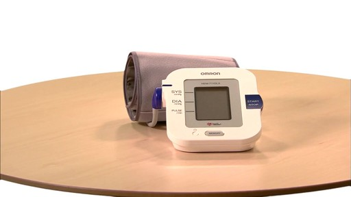 Omron 10 Series Upper Arm Blood Pressure Monitor, Model BP785 | drugstore.com - image 1 from the video