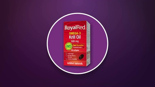 Webber Naturals RoyalRed Extra Strength Krill Oil Plus Softgels product | drugstore.com - image 1 from the video