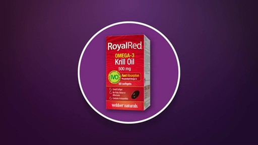 Webber Naturals RoyalRed Extra Strength Krill Oil Plus Softgels product | drugstore.com - image 2 from the video