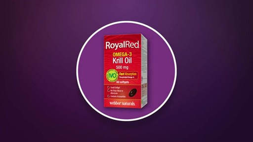 Webber Naturals RoyalRed Extra Strength Krill Oil Plus Softgels product | drugstore.com - image 9 from the video