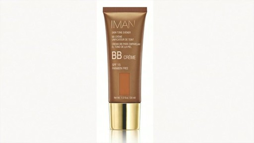 IMAN Skin Tone Evener BB Cream SPF 15 product | drugstore.com - image 6 from the video