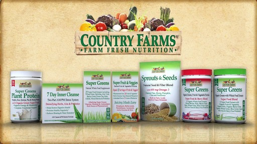 Country Farms Food Supplement products | drugstore.com - image 1 from the video