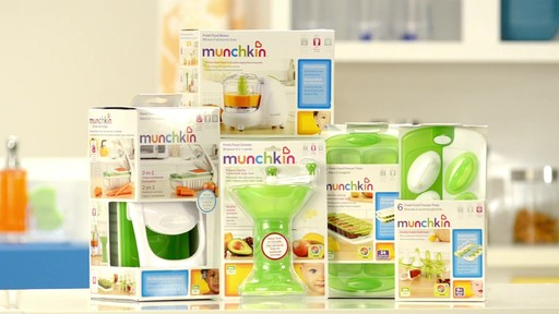 Munchkin Baby Food Solutions products   drugstore.com - image 10 from the video