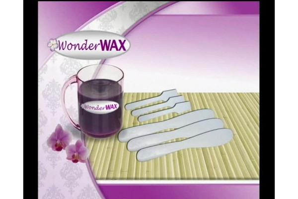 Wonder Wax Wonder Wax Microwaveable Waxing Kit product | drugstore.com - image 2 from the video