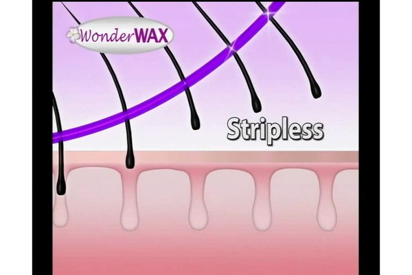 Wonder Wax Wonder Wax Microwaveable Waxing Kit product | drugstore.com - image 6 from the video