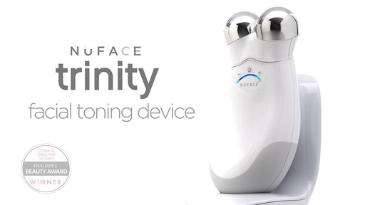 NuFACE Trinity Facial Toning Device product | drugstore.com - image 4 from the video