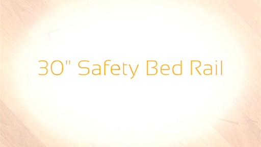 Stander Safety Bed Rail 30 product | drugtore.com - image 1 from the video