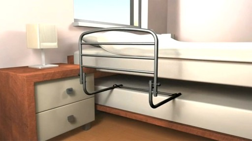 Stander Safety Bed Rail 30 product | drugtore.com - image 2 from the video