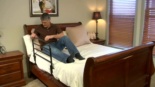 Stander Safety Bed Rail 30 product | drugtore.com - image 5 from the video