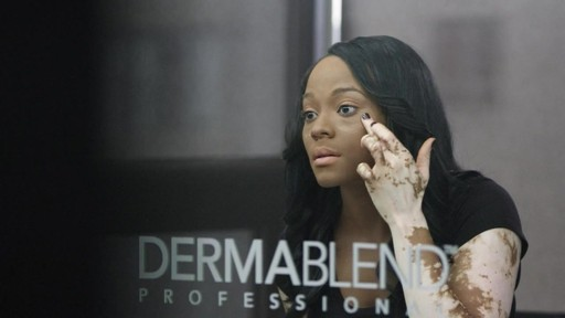 Dermablend Application (Cheri) tutorial | drugstore.com - image 9 from the video