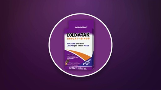 Cold Atak Throat   Sinus Liquid-Gel Softchews product | drugstore.com - image 4 from the video