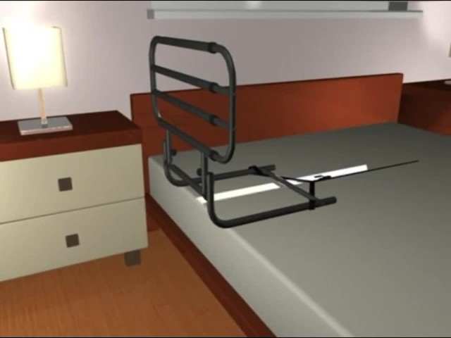 Standers EZ Adjust Bed Rail - image 2 from the video