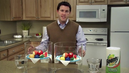 Bounty Billiard Ball Demonstration | drugstore.com - image 1 from the video