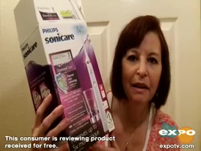 Philips Sonicare DiamondClean Sonic toothbrush, HX9332 review | drugstore.com - image 1 from the video