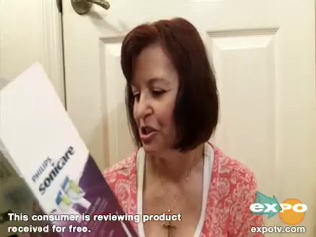 Philips Sonicare DiamondClean Sonic toothbrush, HX9332 review | drugstore.com - image 9 from the video