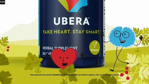Ubera Heart & Brain Health, Capsules | drugstore.com - image 9 from the video