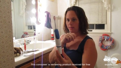 Philips Sonicare PowerUp Battery Toothbrush review | drugstore.com - image 9 from the video