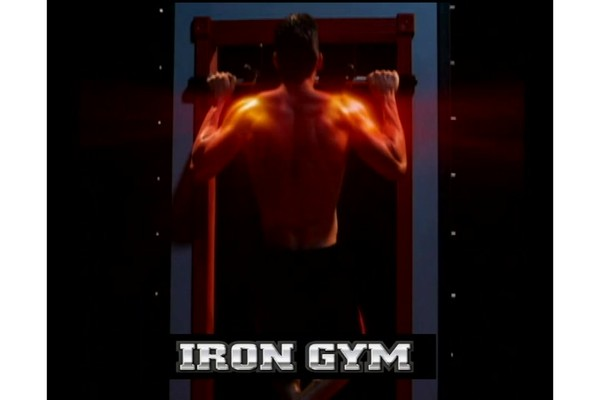 The Iron Man Pull Up Bar 19