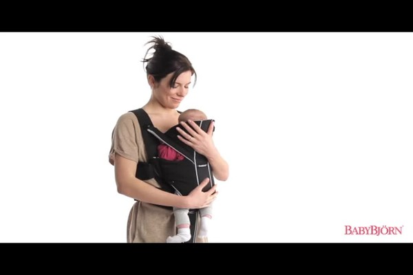 BABYBJORN Baby Carrier Miracle product   drugstore.com - image 2 from the video