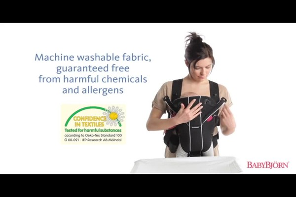 BABYBJORN Baby Carrier Miracle product   drugstore.com - image 8 from the video