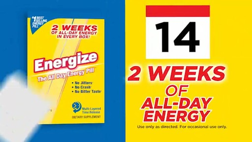 iSatori Energize, The All-Day Energy Pill product | drugstore.com - image 8 from the video