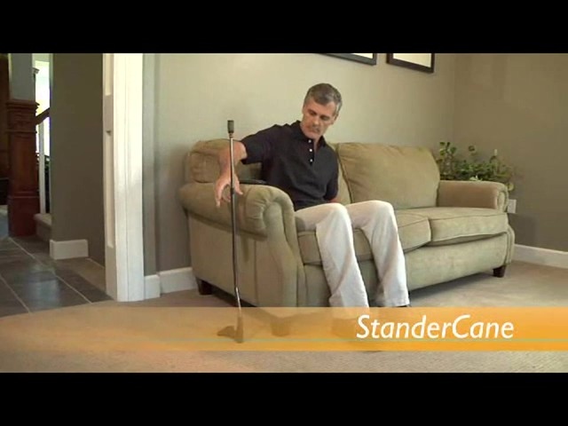 Stander Cane Right Handed product | drugstore.com - image 7 from the video