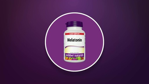Webber Naturals Melatonin products | drugstore.com - image 3 from the video