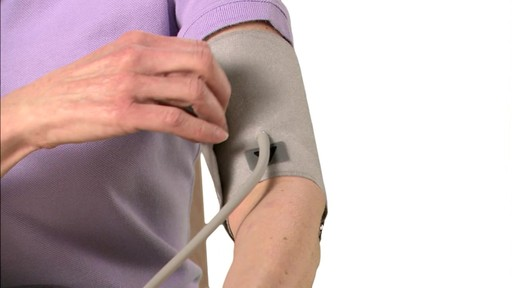 Omron 3 Series Blood Pressure Monitor, Model BP710 | drugstore.com - image 5 from the video