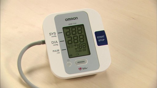 Omron 3 Series Blood Pressure Monitor, Model BP710 | drugstore.com - image 7 from the video