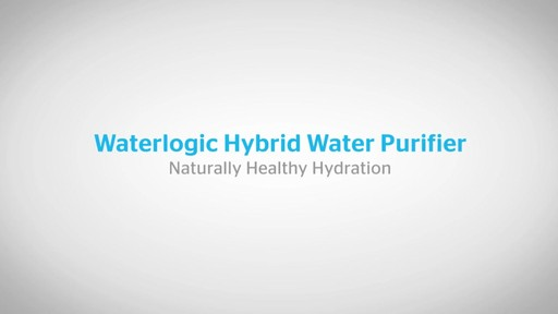 Waterlogic Hybrid Water Purifier | drugstore.com - image 1 from the video