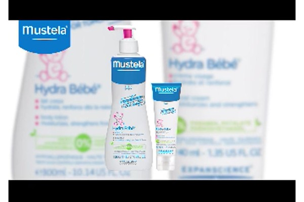 Mustela Hydra-Bebe Lotion product | drugstore.com - image 6 from the video