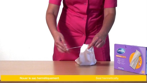 CLEANIS CareBag Men's Urinal Bag with Super Absorbent Pad product | drugstore.com - image 9 from the video