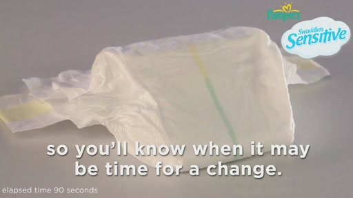 Pampers Swaddlers Sensitive Diapers - image 10 from the video