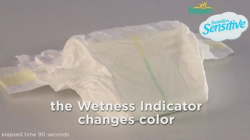 Pampers Swaddlers Sensitive Diapers - image 8 from the video