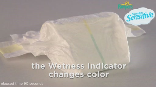 Pampers Swaddlers Sensitive Diapers - image 9 from the video