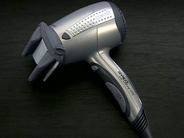 Infiniti By Conair Professional Nano Silver Tourmaline Ceramic Styler Image 1 From The Video