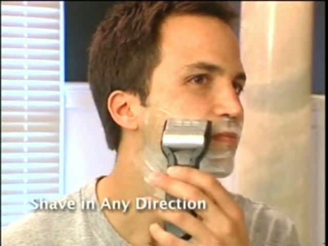 Emjoi Men's Rotoshave Electric Razor - image 2 from the video